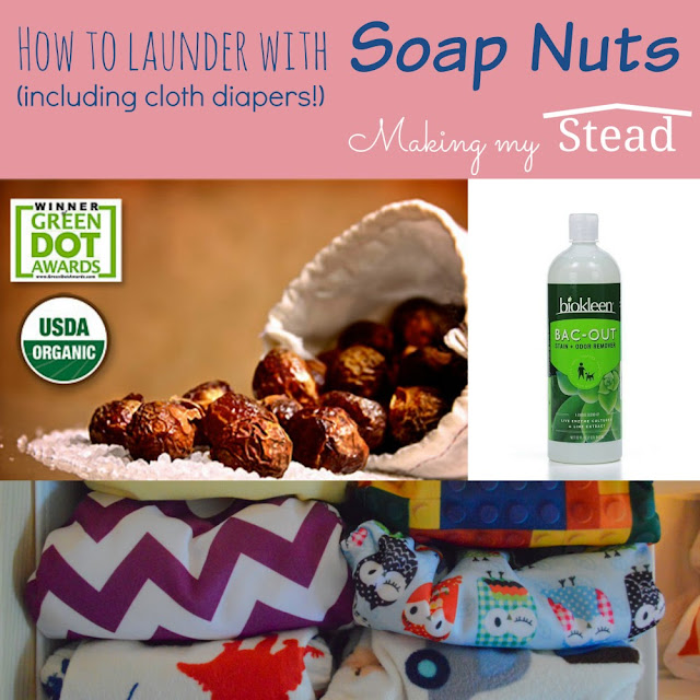 Making My Stead How To Launder With Soap Nuts Including