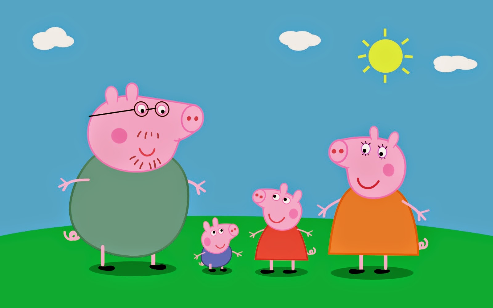 Familia Pig Chegou na Mi Festas