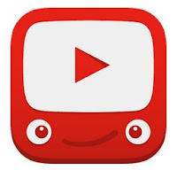 "The YouTube Kids Logo, featuring the YouTube ""play"" icon with a smiley face."