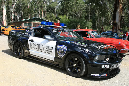 At 9 we have the Concept Camaro, The future idea for Police cars