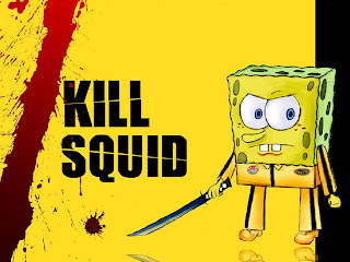 SpongeBob Square Pants Funny Wallpaper