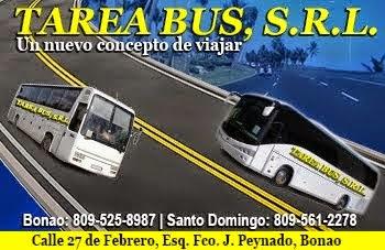 TAREA BUS DE BONAO