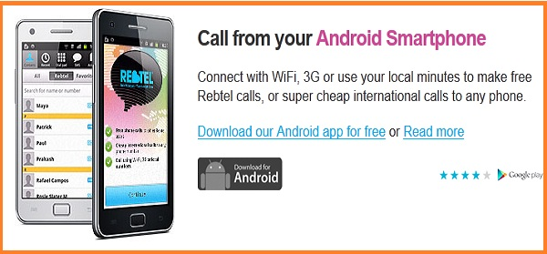 Rebtel free download for android