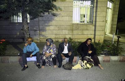 gempa bumi iran 6.4d