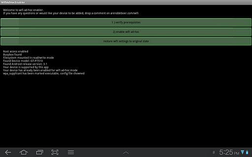 WiFi Ad Hoc enabler v1.8 Apk App ~ Apk2All