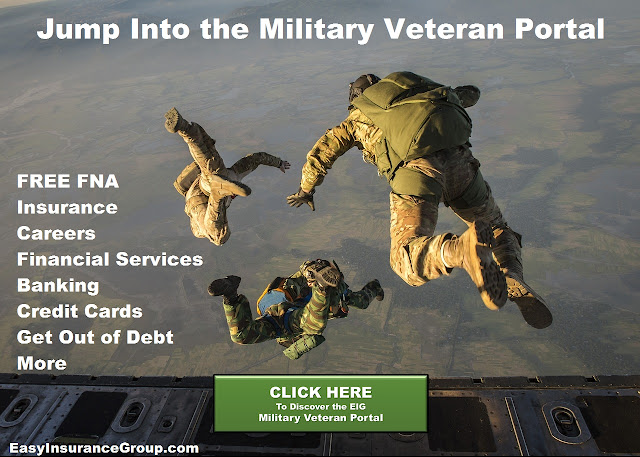 Military Veteran Portal - Careers for Transitioning Military Personnel - Financial Services - Resources