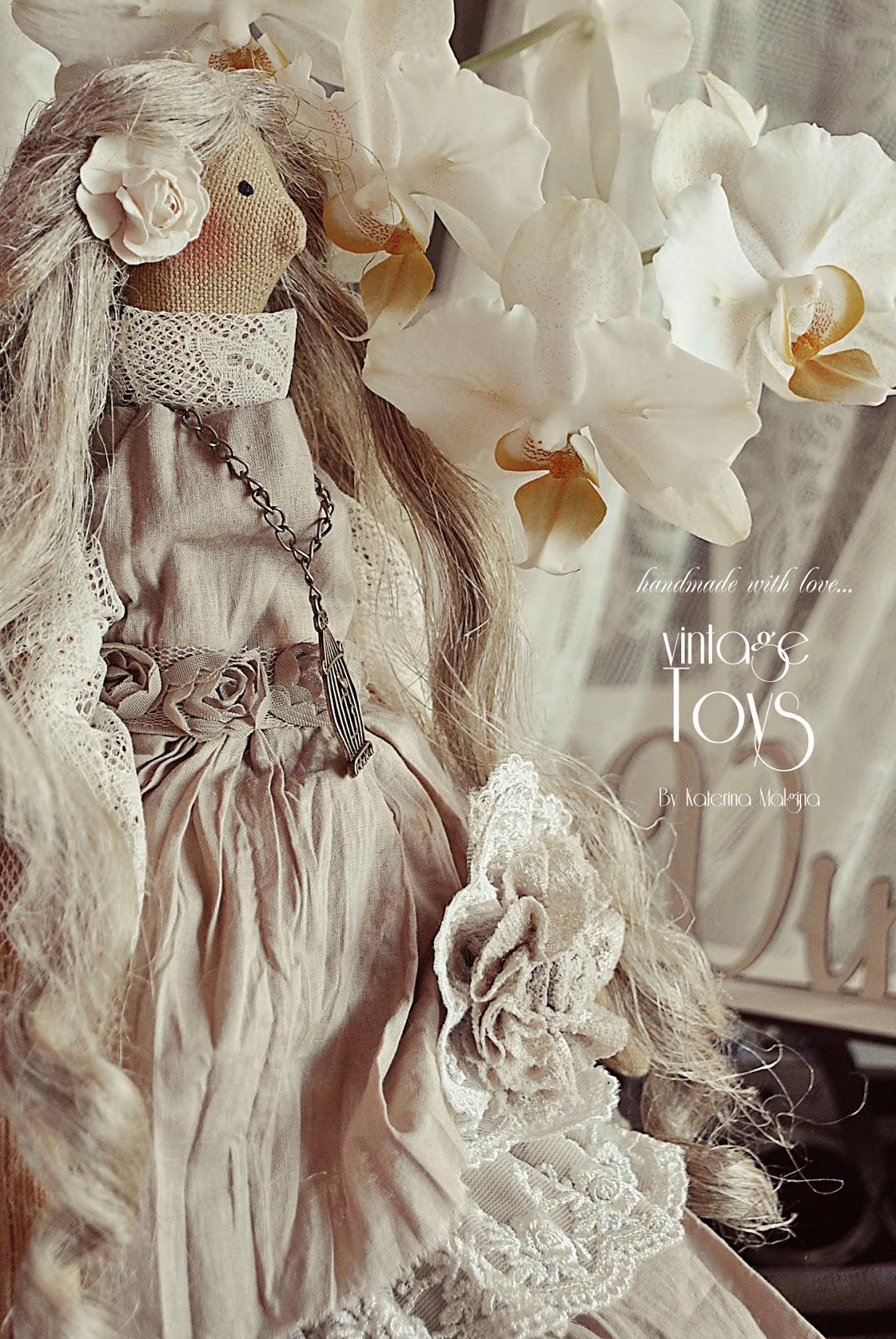 "Кукла Тильда в стиле бохо ""Сиренька и Жасмин"""