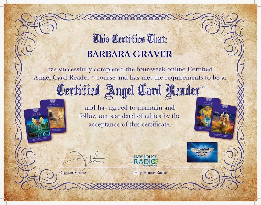 My Angel Card Reader Certification: