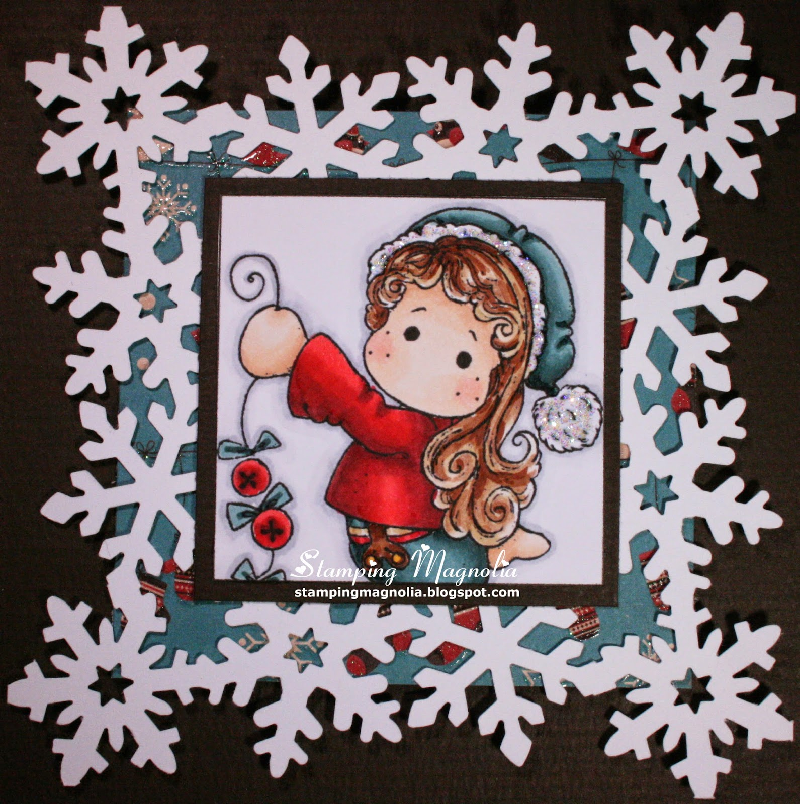 Coloring Magnolia Stamp A Christmas Story Collection - Jigle Jangle Tilda