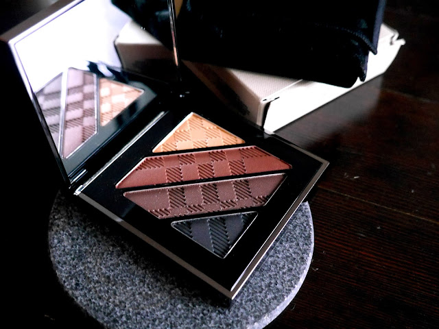 burberry complete eye palette dark spice