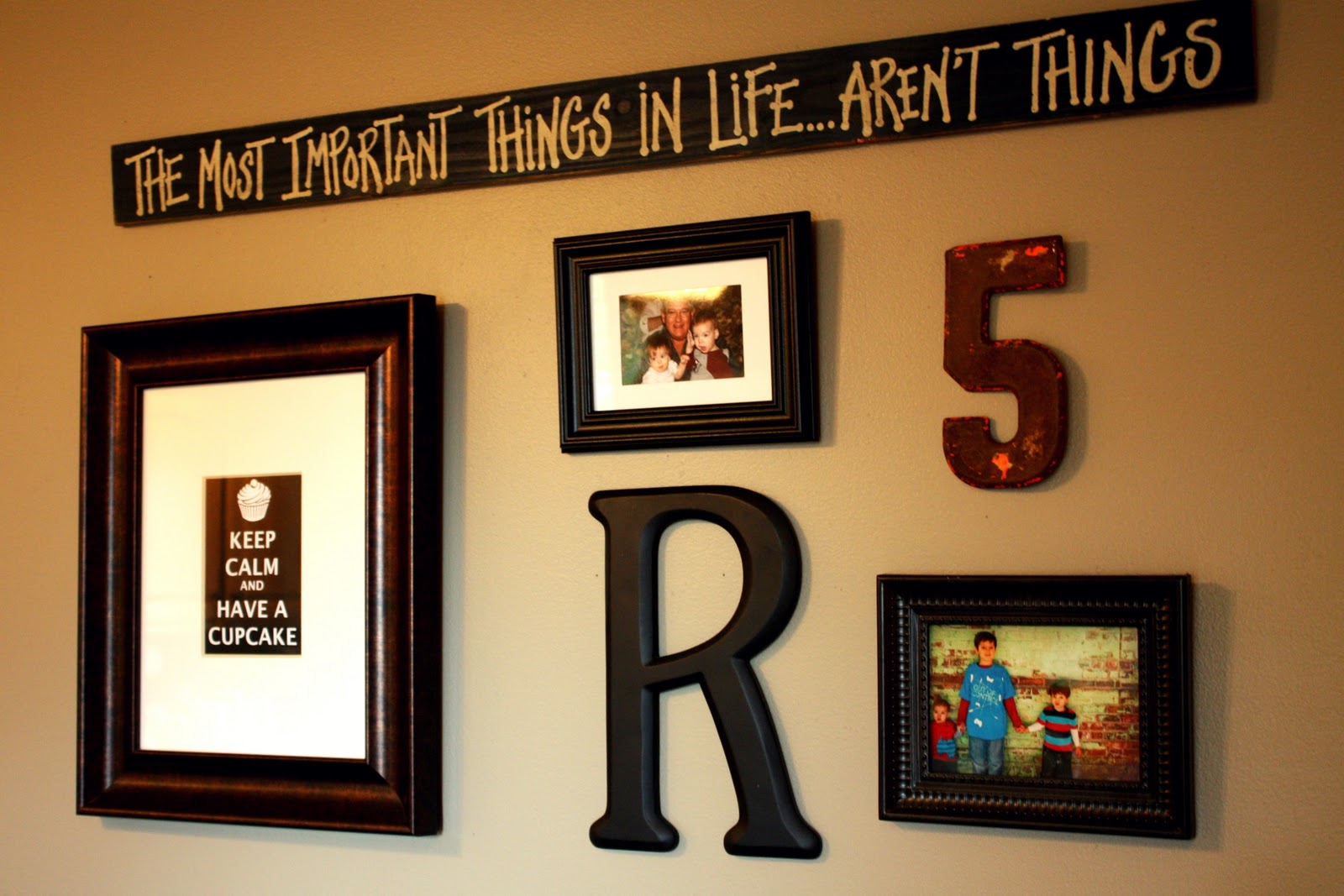 Lets rethink wall decor im a lazy mom lets rethink wall decor jeuxipadfo Choice Image