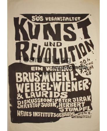 Aktion Veranstaltung Kunst und Revolution