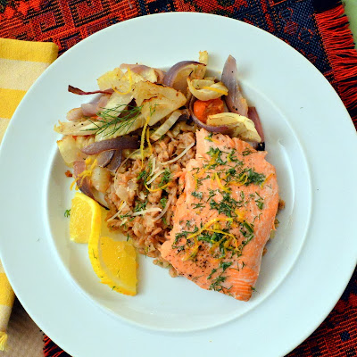 This is How I Cook: Roasted Salmon with Roasted Vegetables ...