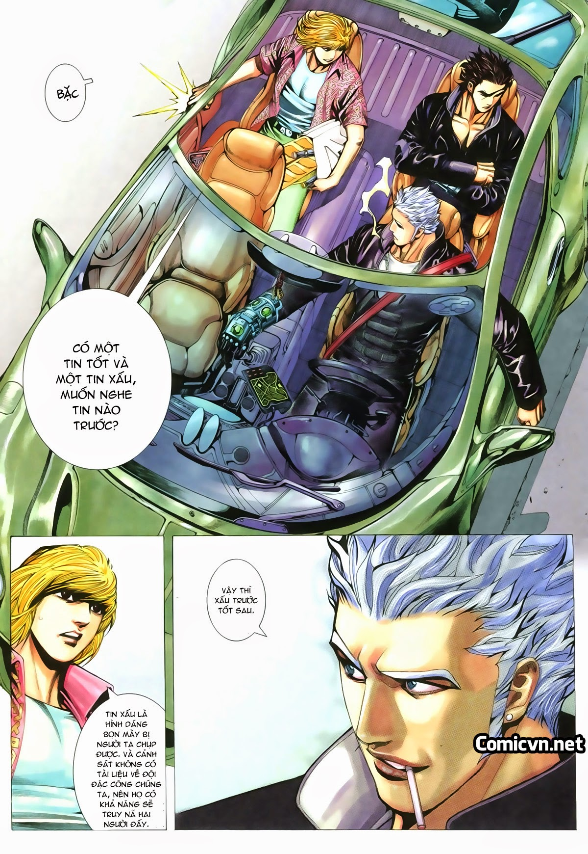 Tuyệt Địa Thiên Hành chap 8 Trang 30 - Mangak.info