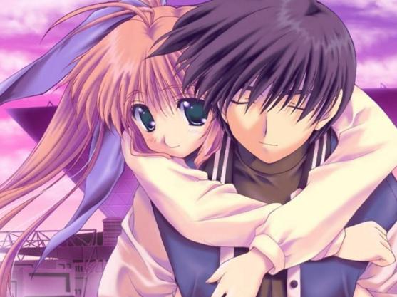 Gambar anime romantis banget