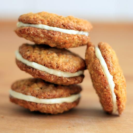 der muss haben sieben sachen ein backblog von paul bokowski 007 carrot cake cookies. Black Bedroom Furniture Sets. Home Design Ideas