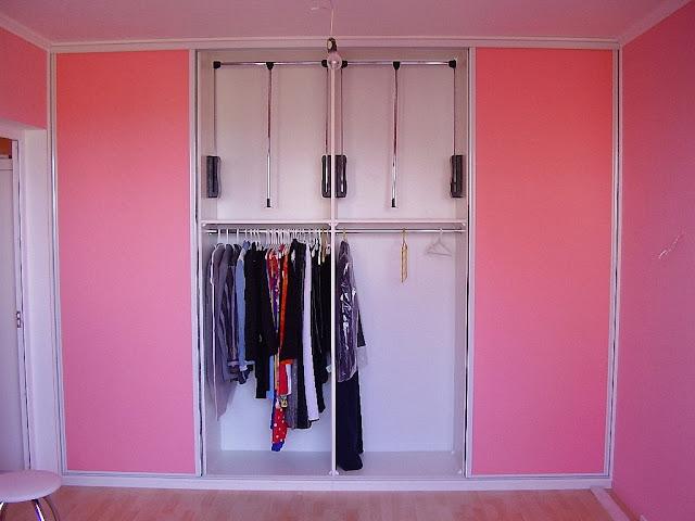 Как из чего сделать перегородку в гардеробной