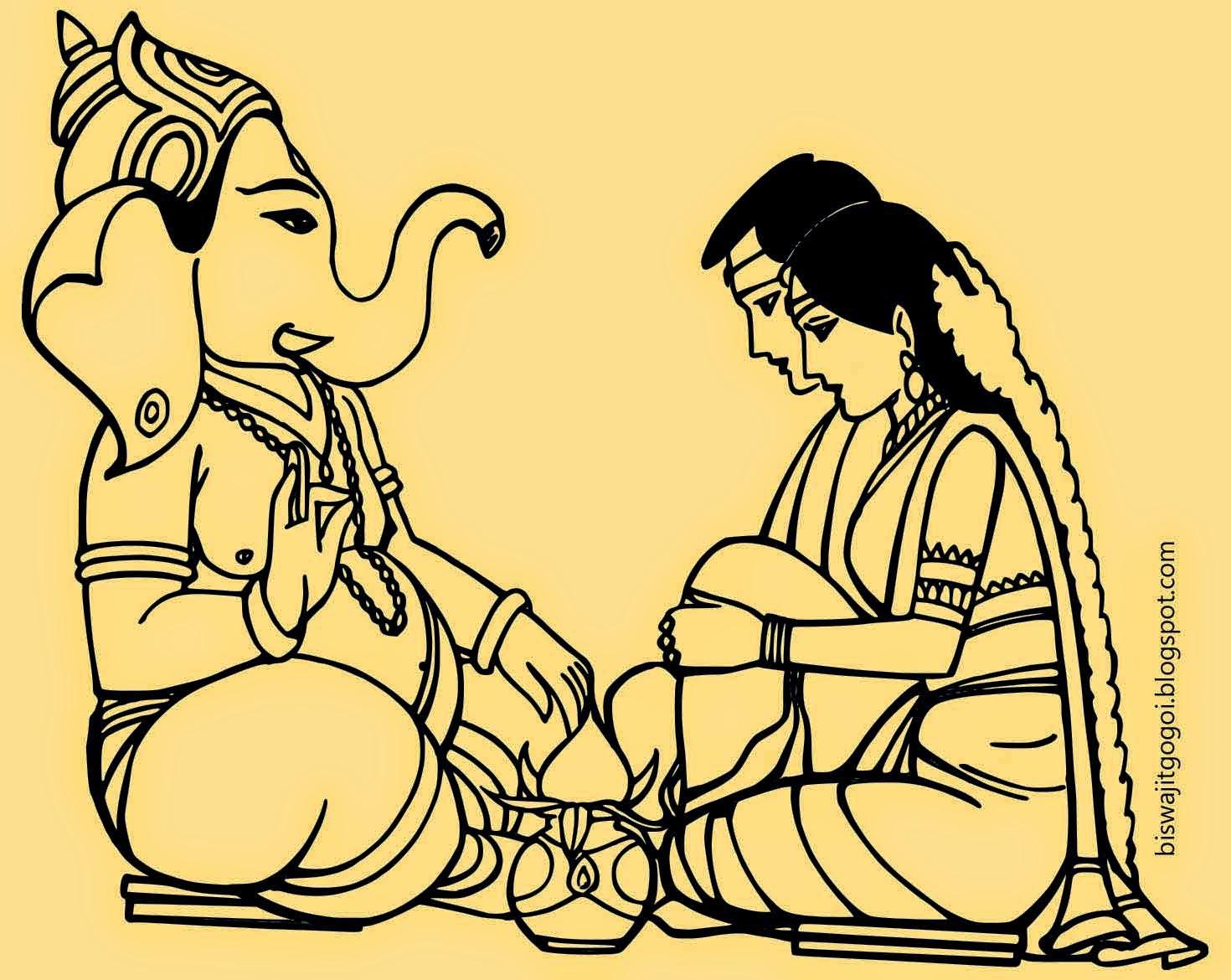 Lord Symbols Symbol With Lord Ganesha