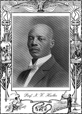 Professor  N W Harllee A. M., A. B