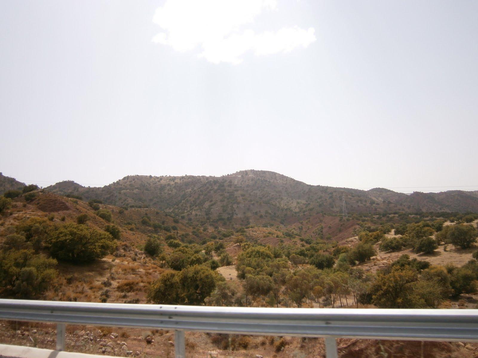 paysages et coins  u00e0 visiter au maroc  vue et paysage sur l