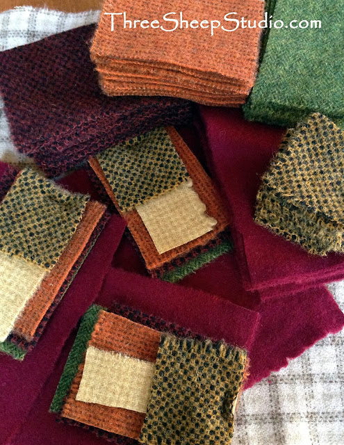 Wool Textures For Kits - ThreeSheepStudio.com
