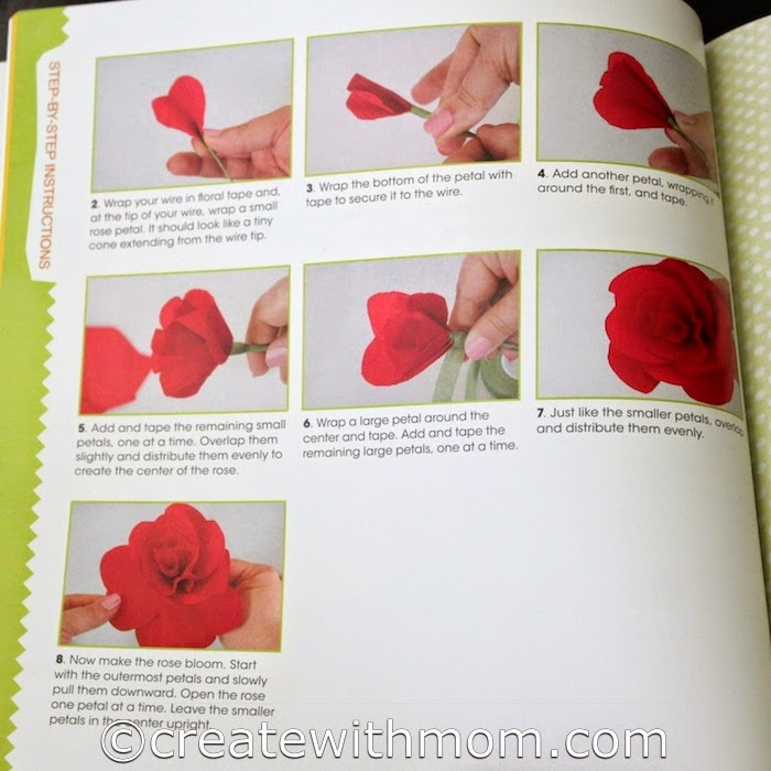 Make The Below Image Big To See Instruction On How Paper Roses