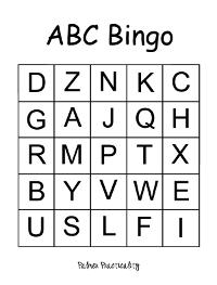 Palmer Practicality: ABC Bingo for Preschoolers