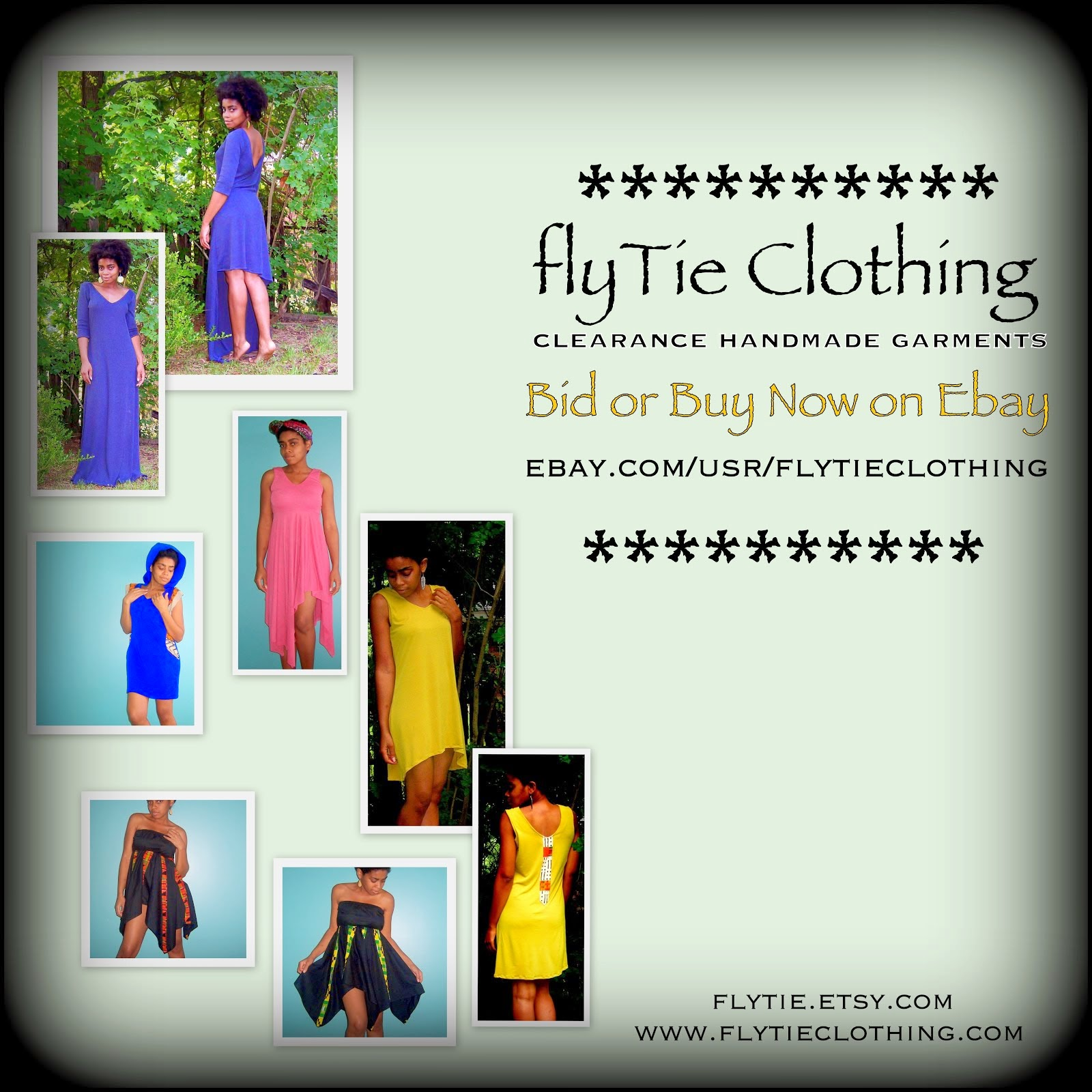 flyTie Clothing on Ebay