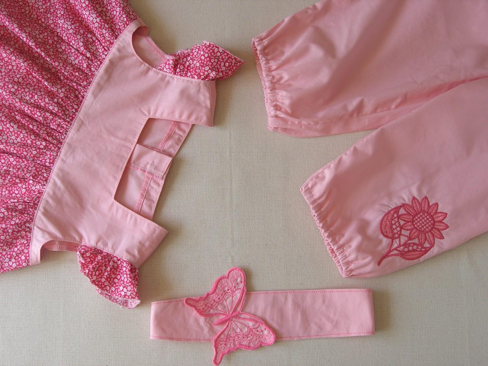 Как строится выкройка: платье для девочки 1 год 69
