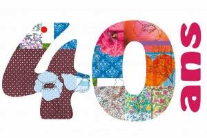 image invitation anniversaire 40 ans