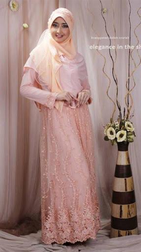 21 Model Gaun Pengantin Muslimah Syari Dan Elegan Terbaru