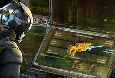Dead space 3 weapon parts locations