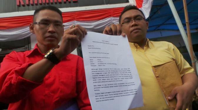 Ini Surat Permohonan Maaf Rinada kepada Wali Kota Bandung