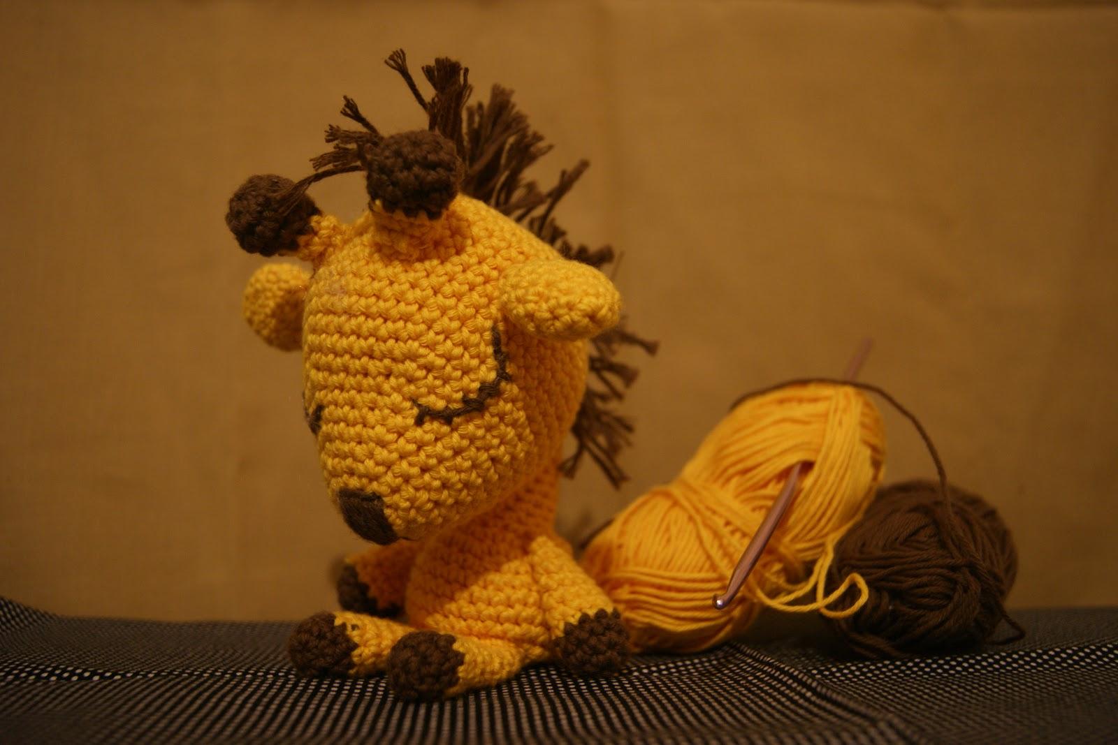 шапочка жираф схема