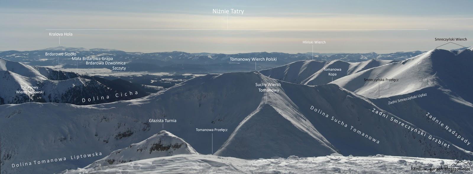 Panorama z Ciemniaka