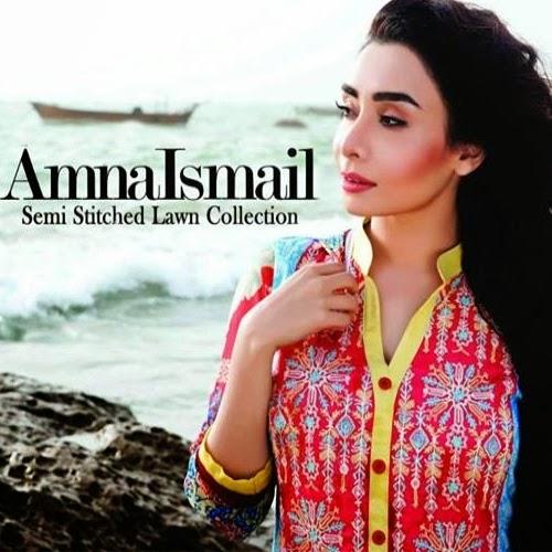 Amna Ismail Lawn Vol-3 2014