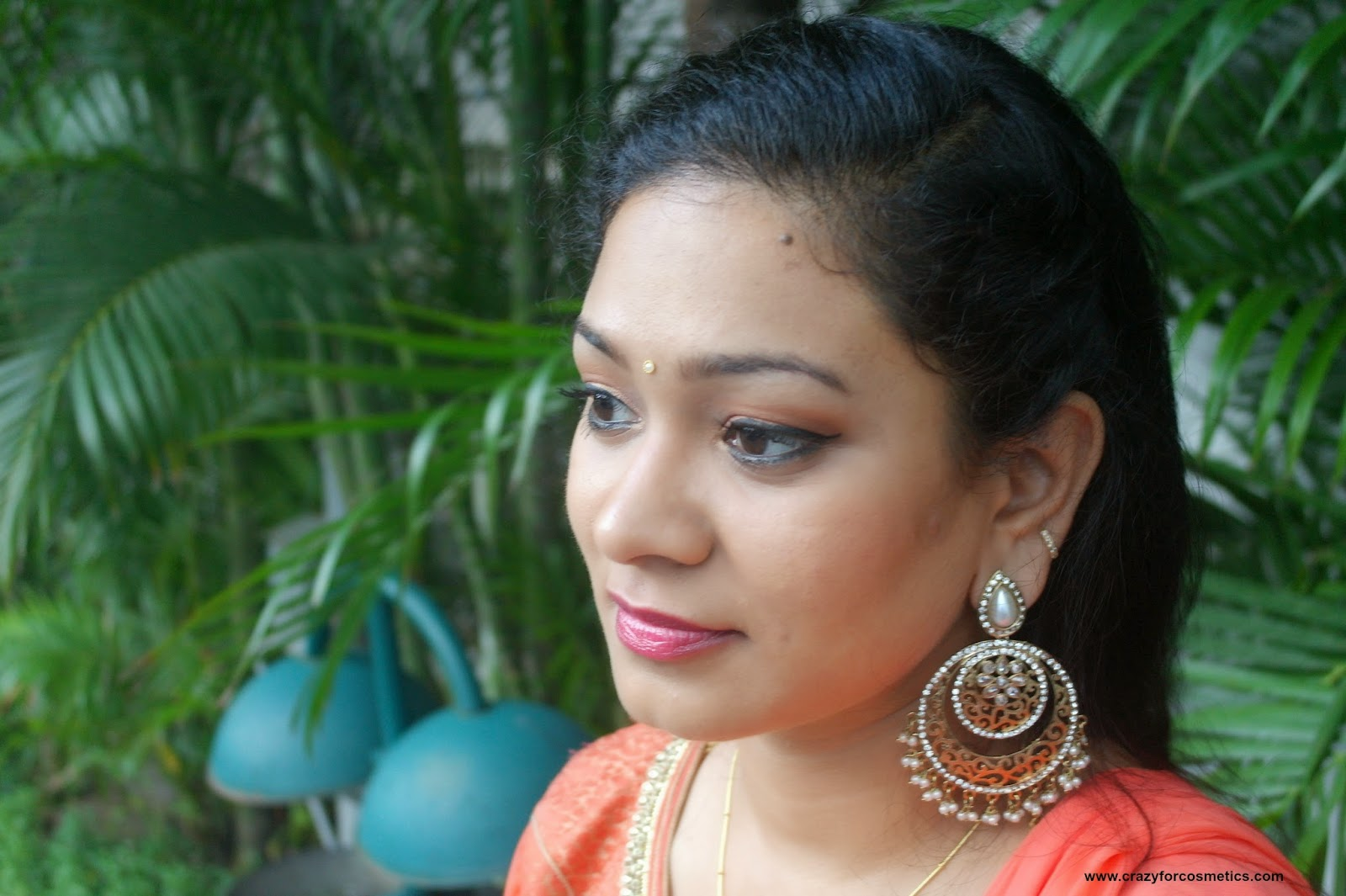 simple hairstyles for indian parties