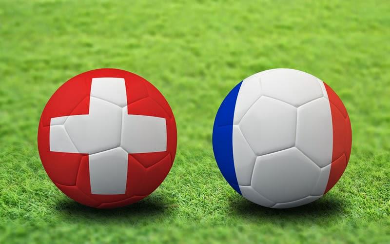 Suiza 2 - 5 Francia. Grupo E