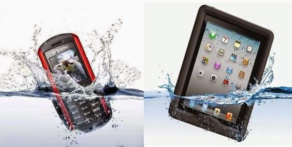 cara mengeringkan smartphone terkena air