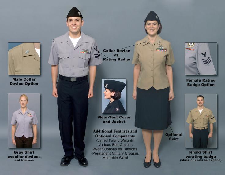 navy vets the new navy uniform