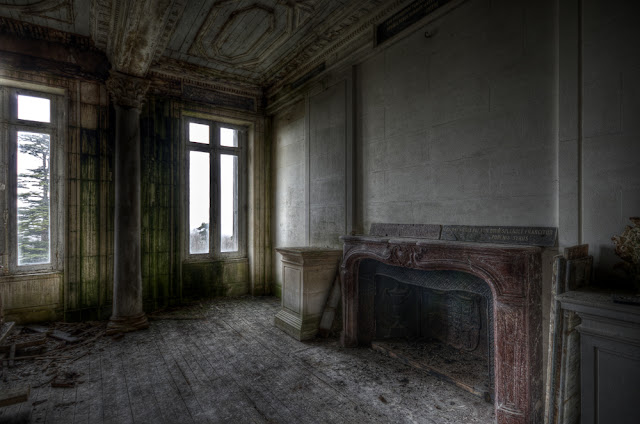 photo urbex hdr, urbex sites france, exploration urbaine france, urbex galerie, urbex blog, urbex château france, chateau abandonné,  photo hdr fabien monteil