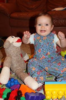 Norah 7 months!