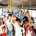 Com a frota de ônibus renovada e revisada, Secretária de Educação vai atender mais de 1800 alunos no município.