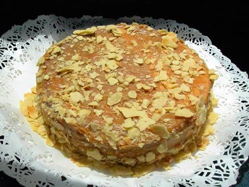 Torta de Alfajor y Manjar