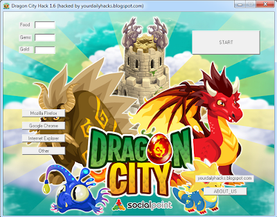 Dragon City Hack Tool V57 Free Download December 2013 Created With