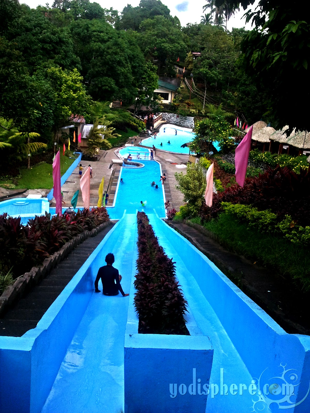 Nagcarlan laguna villa sylvia resort long water slide