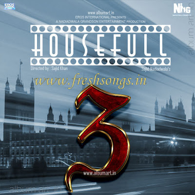 Housefull 3 (2014) Movie First Look, Mp3 Songs, Trailer, Music, Review