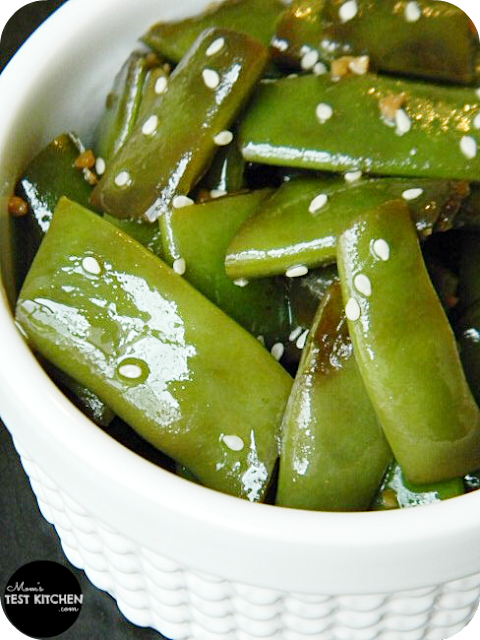 Mom's Test Kitchen: Sesame Soy Green Bean Salad