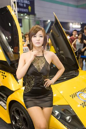 Ryu Ji Hye, Seoul Auto Salon 2011 (10)