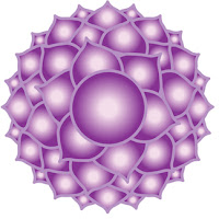 Image of the crown chakra